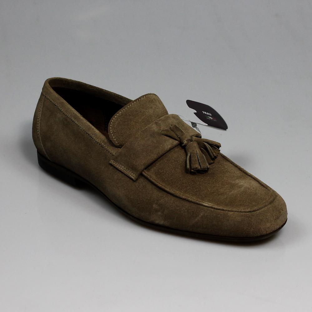 nessuna tassa di vendita molte scelte di scarpe classiche MOCASSINO UOMO SCAMOSCIATO SUEDE SUGHERO FRAU   PRIMAVERA ...